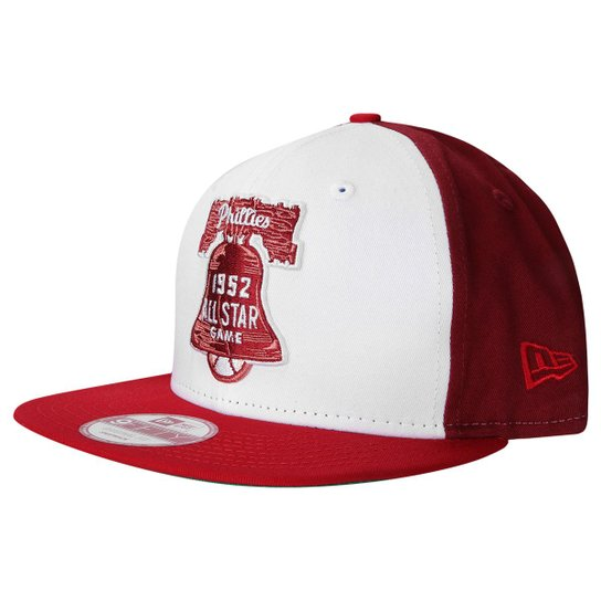Boné New Era 950 MLB All-Star Game 1952 Philladelphia Phillies - Branco+ Vinho 8acf33e6762ee