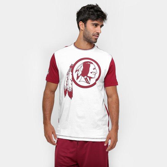 7db90d85a Camiseta New Era NFL Bicolor Washington Redskins - Compre Agora ...