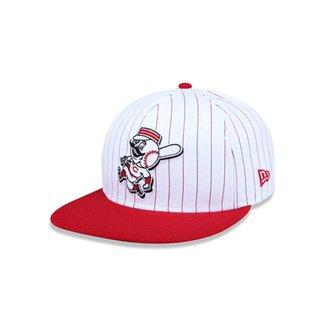 Boné 950 Original Fit Cincinnati Reds MLB Aba Reta Snapback New Era 7c6cc56f190