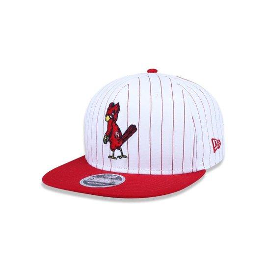 Boné 950 Original Fit Saint Louis Cardinals MLB New Era - Branco+Vermelho d1ea52c7f09