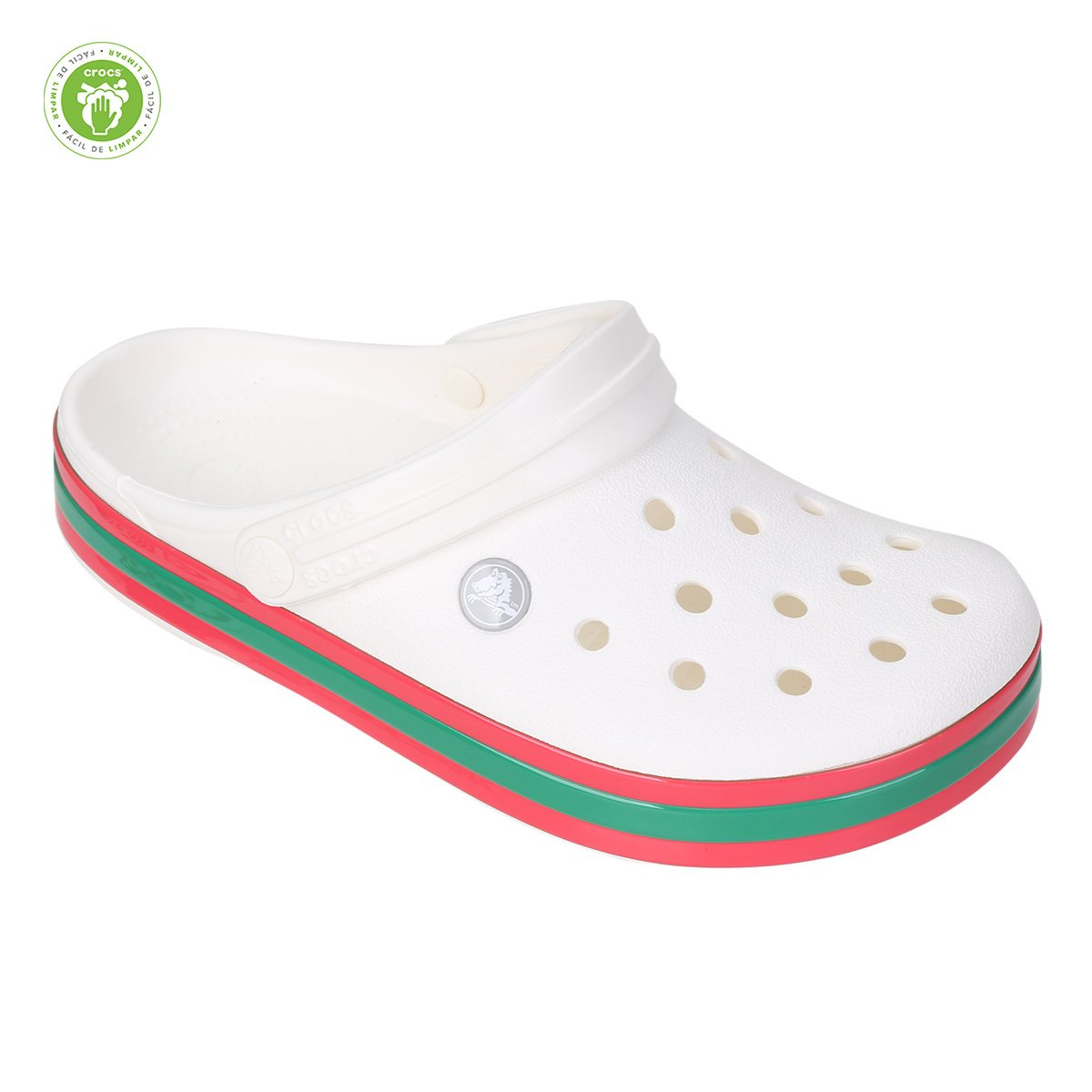 Sandália Crocs Crocband Hyper Shine