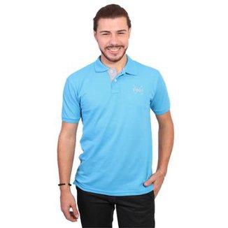 Camisas Polo Masculino Azul Turquesa   Netshoes e5f814fe3f