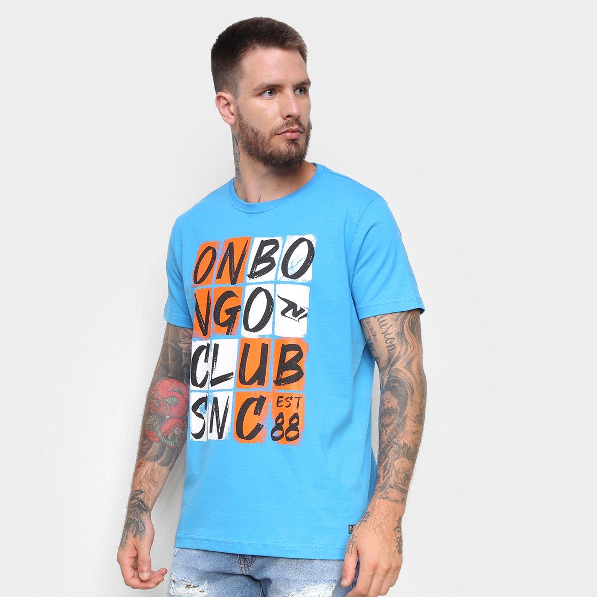 Camiseta Onbongo Estampada Club Masculina