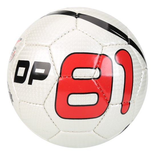126adb082e Bola Futsal DP81 Celebration Classic - Branco+Vermelho