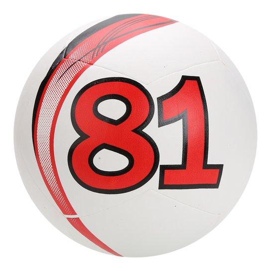 3b6784610 Bola Futebol Campo Since 81 Matrix Clássica - Branco+Vermelho