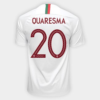 38631ec126987 Camisa Seleção Portugal Away 2018 n° 20 Quaresma - Torcedor Nike Masculina