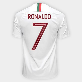 68073746765cc Camisa Seleção Portugal Away 2018 n° 7 Ronaldo - Torcedor Nike Masculina