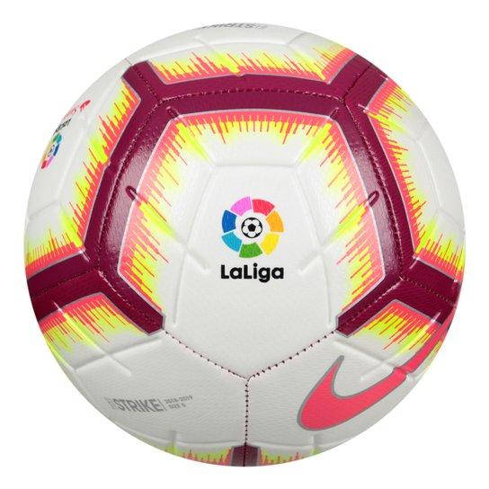Bola de Futebol Campo Nike La Liga Strike - Branco e Vermelho ... 92a2049d69641