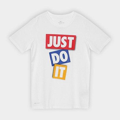 Camiseta Infantil Nike B Dry Dfc Jdi Tape Masculina