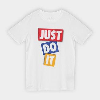 Camiseta Infantil Nike B Dry Dfc Jdi Tape Masculina fd0205d2575d2