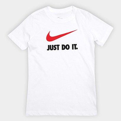 Camiseta Infantil Nike B Nsw Tee Jdi Swoosh Masculina