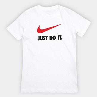 0a1d82566f Camiseta Infantil Nike B Nsw Tee Jdi Swoosh Masculina