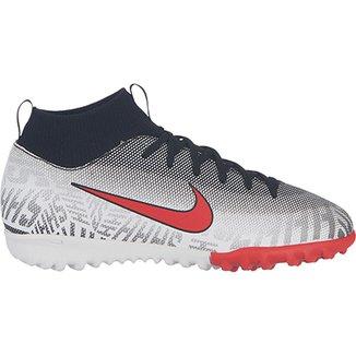 9af1bf3e4bb22 Chuteira Society Infantil Nike Mercurial Superfly 6 Academy Gs Neymar Jr TF