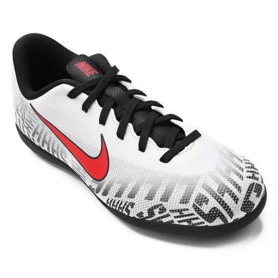 4fa3f4ee64 Chuteira Society Infantil Nike Mercurial Vapor 12 Club Gs Neymar Jr TF -  Branco+Vermelho