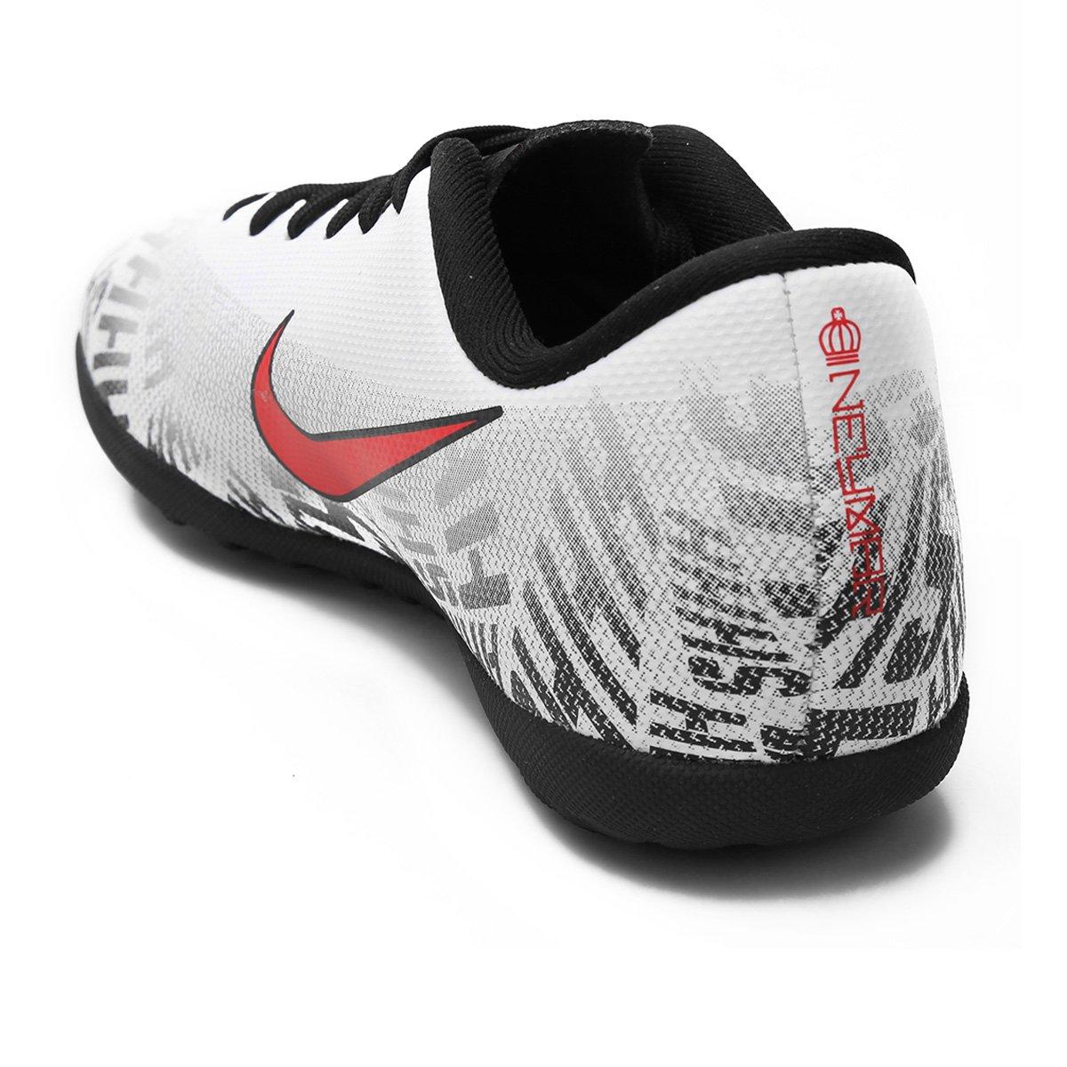 1608b9ca37 ... Chuteira Society Infantil Nike Mercurial Vapor 12 Club Gs Neymar Jr TF  - Tam  35 ...