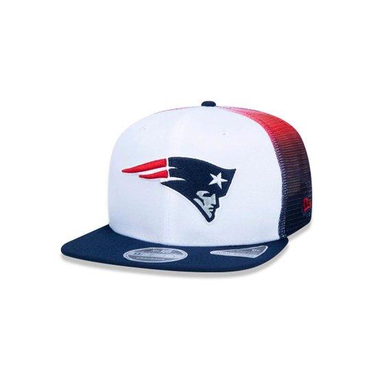 Boné 950 New England Patriots NFL Aba Reta New Era - Compre Agora ... eb9580f1262