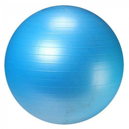 Bola de Pilates e Yoga Suica Premium Anti Estouro 65 cm - Azul Turquesa b6f61e289fc9a