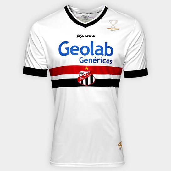fcf1d7ab2 Camisa Anápolis I 2017 nº10 - Torcedor Kanxa Masculina - Branco+Vermelho