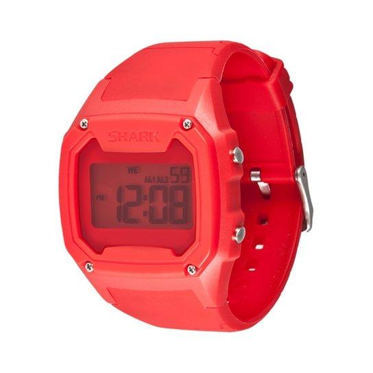 3aeaf8da72d Relógio Freestyle Killer Shark Silicone - Branco+Vermelho