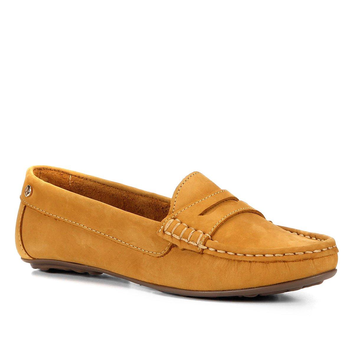 Mocassim Shoestock Nobuck Comfort Feminino
