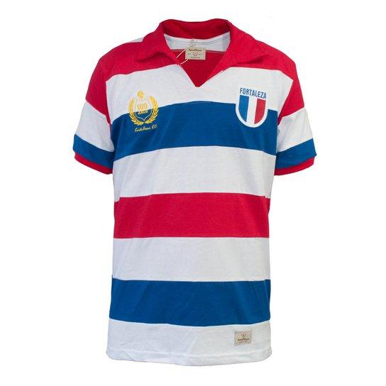 a1ee989963250 Camisa Retrô Mania Fortaleza Centenário - 1927 - Branco+Vermelho
