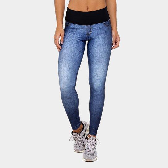 Calça Legging Live Jeans Boost Wash Feminina - Compre Agora  56494933d4554
