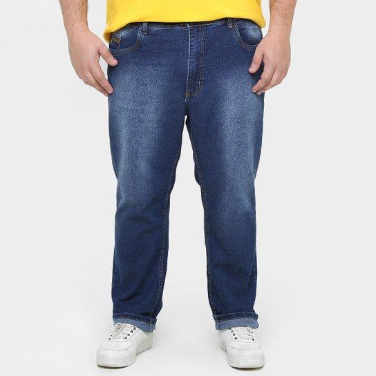 75cf52a65 Calça Black Jeans Stone Confort Elastano Plus Size - Compre Agora ...