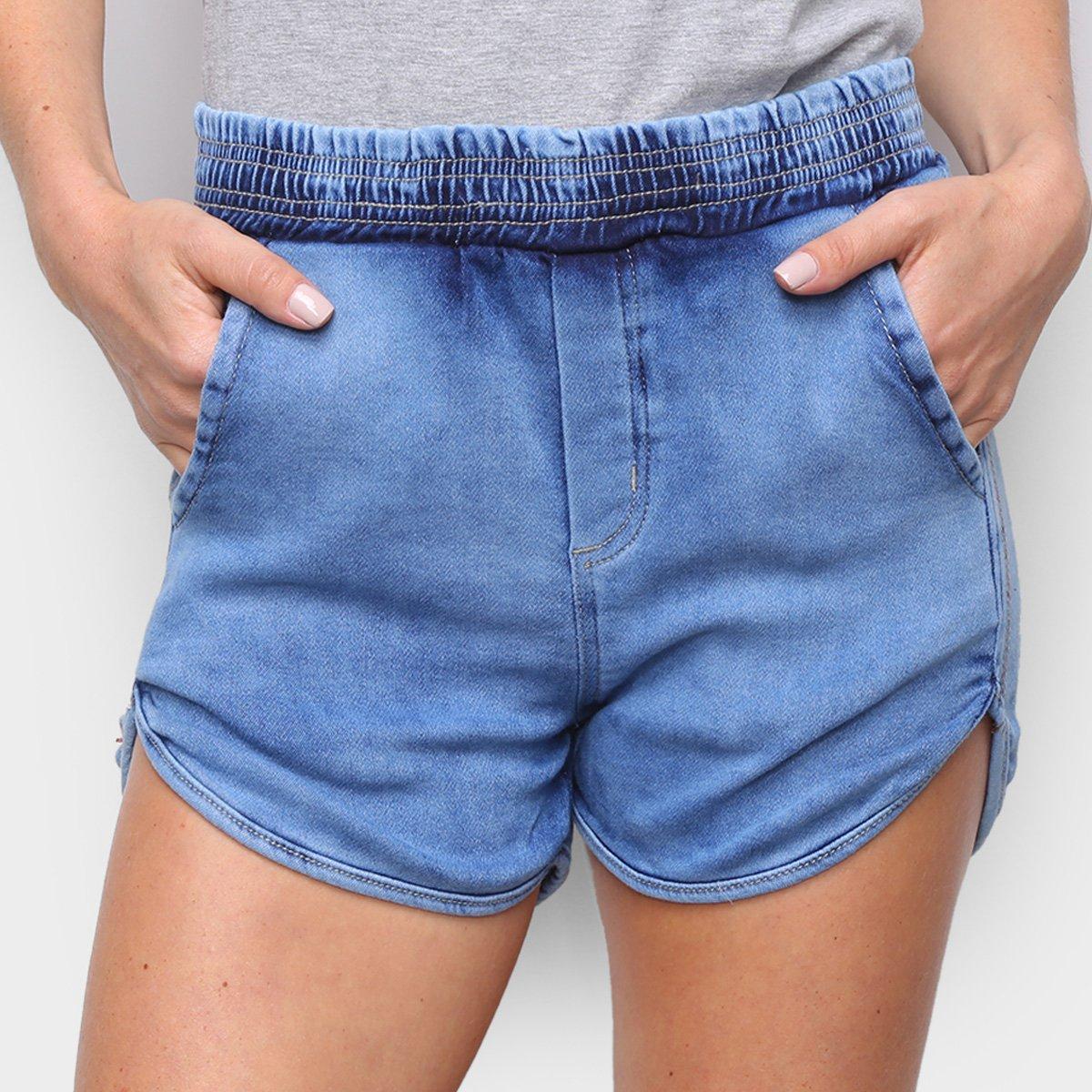 Short Jeans Hang Loose Zouk Feminino
