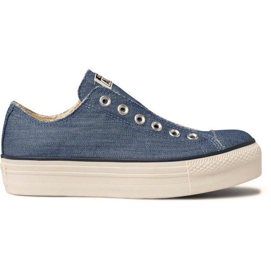 491b8b2524 Tênis Converse Chuck Taylor All Star Platform Ox - Jeans