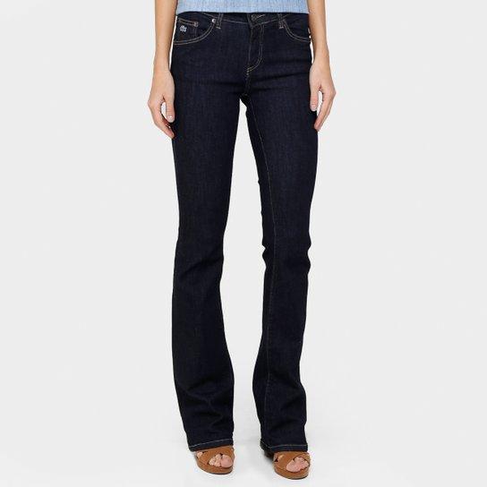 323af23ec5606 Calça Jeans Lacoste Flare - Compre Agora