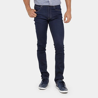 Calça Jeans Lacoste Slim Fit Masculina