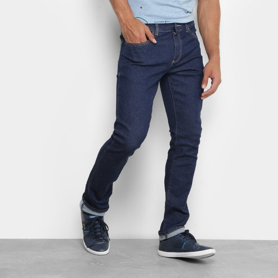 Calça Jeans Skinny Lacoste Lavagem Escura Masculina - Compre Agora ... 8639bc6c6a