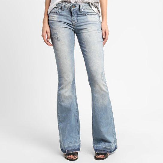 f417b7a28 Calça Jeans Calvin Klein Flare Barra Descosturada | Netshoes