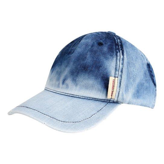 Boné Calvin Klein Aba Curva Jeans Logo Masculino - Compre Agora ... e438c40e2c