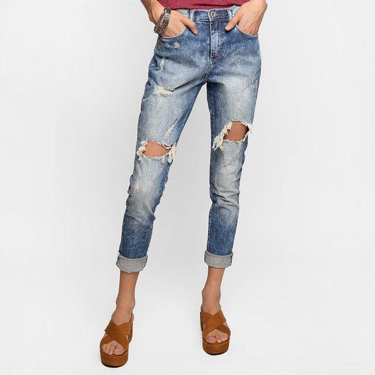 94c3ec969 Calça Jeans Cavalera Rasgada Cintura Alta | Netshoes
