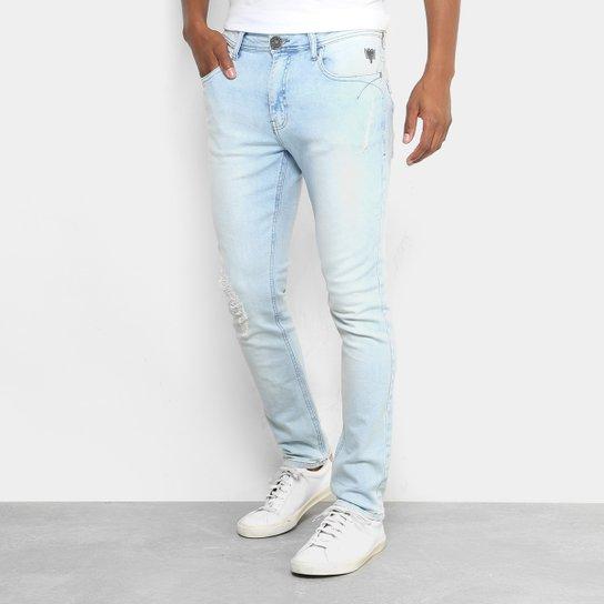 244852fd2 Calça Jeans Skinny Cavalera Delavê Stone Masculina - Jeans | Netshoes