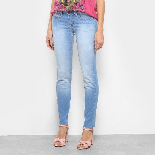 d9ac3be79 Calça Jeans Skinny Triton Riva Low Cropped Feminina - Azul Claro ...