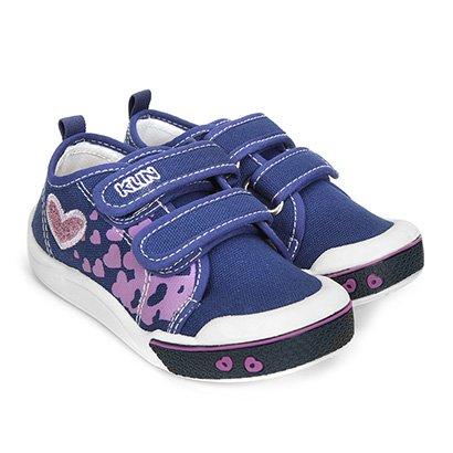 Tênis Infantil Klin Toy Jeans Feminino