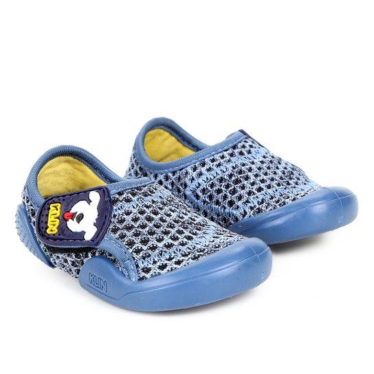 f1b631007d Tênis Infantil Klin New Confort Menino - Azul - Compre Agora
