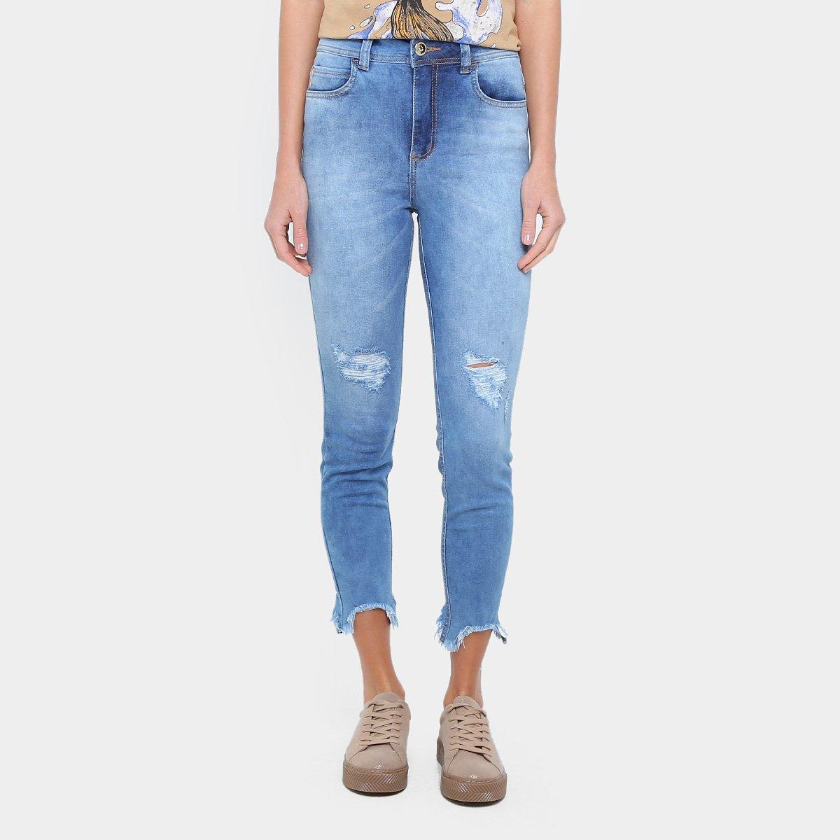 31b0c6dcd Calça Jeans Skinny Colcci Bia Cintura Alta Feminina