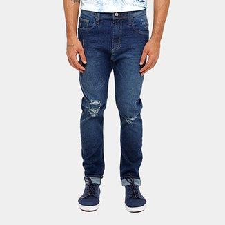 7595b693c Calça Jeans Skinny Colcci Enrico Gancho Grande Rasgos Masculino