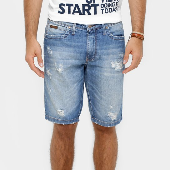 78002252d Bermuda Jeans Colcci Stone Rasgos Masculina | Netshoes