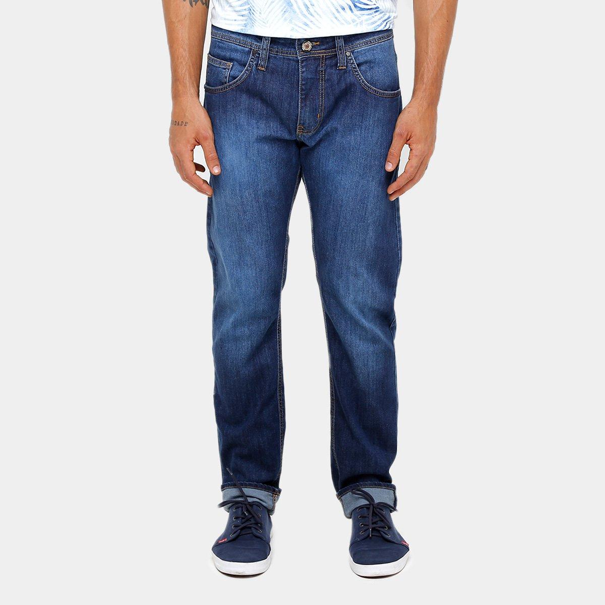 b40705159 Calça Jeans Slim Fit Colcci Estonada Masculina