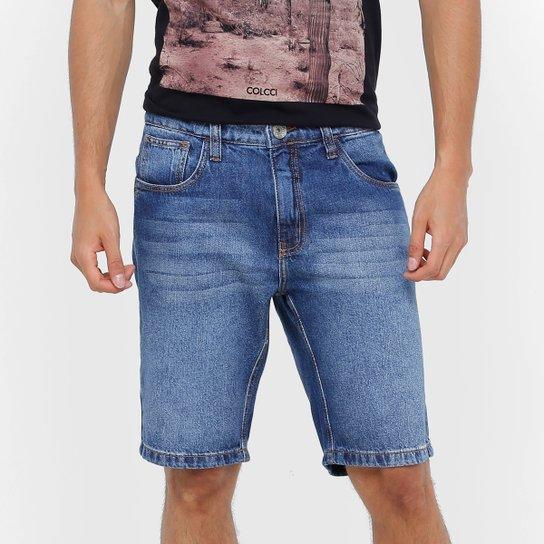 a09b30618 Bermuda Jeans Colcci Stone Indigo Masculina - Compre Agora | Netshoes