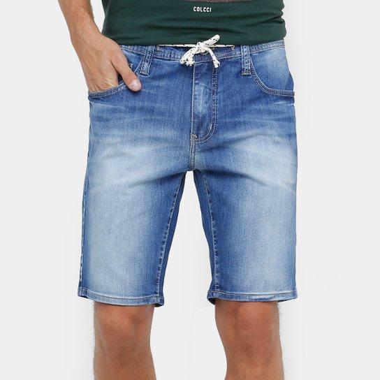 623232369 Bermuda Jeans Colcci Indigo Masculina | Netshoes