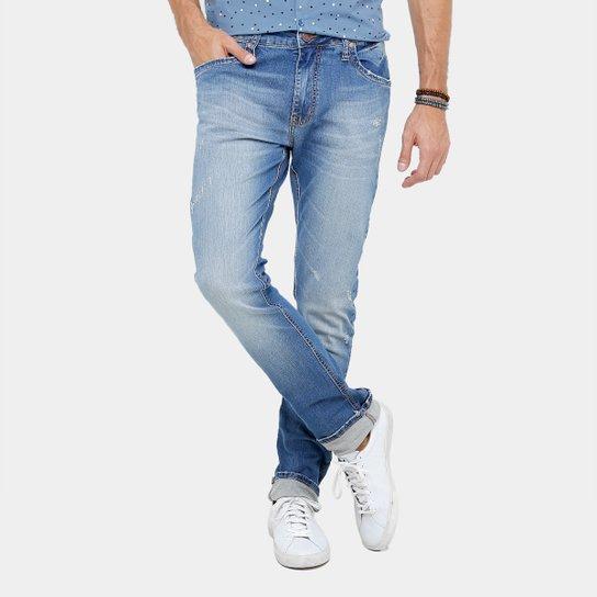 c1f7bf6aee Calça Jeans Reta Colcci Rodrigo Índigo Masculina - Compre Agora ...