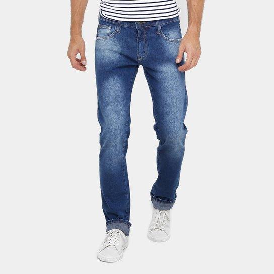 5293fd337 Calça Jeans Colcci Alex Indigo Estonada Masculina - Compre Agora ...