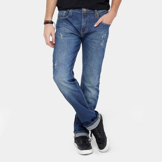 543cffe699 Calça Jeans Reta Colcci Alex Índigo Masculina - Compre Agora