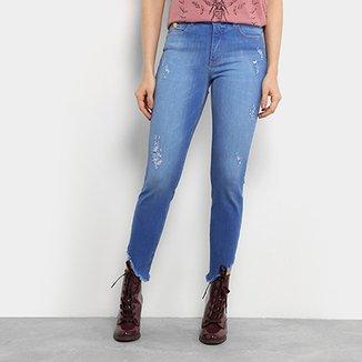 5be9479f3 Calça Jeans Skinny Colcci Extreme Power Base Bia Cintura Média Feminina