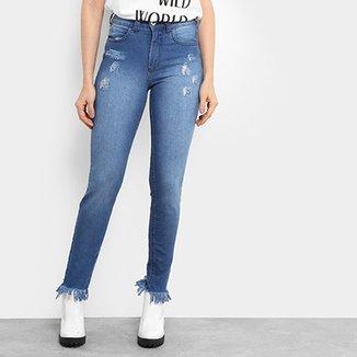 40b72fdd4 Calça Jeans Skinny Colcci Base Bia Cintura Alta Feminina